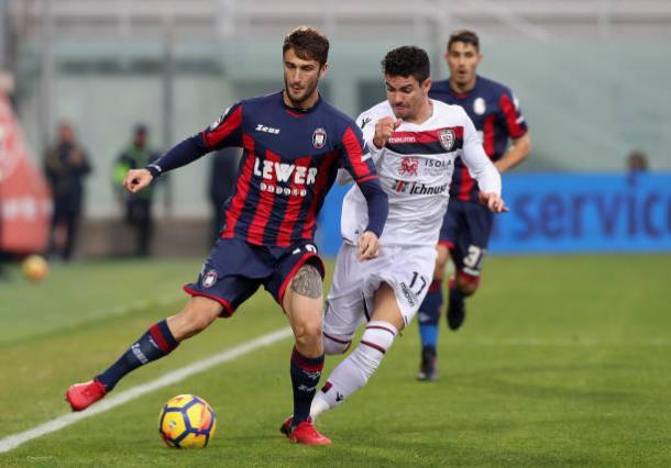 O Crotone conquistou apenas um ponto no jogo passado (Foto: Maurizio Lagana/Getty Images)