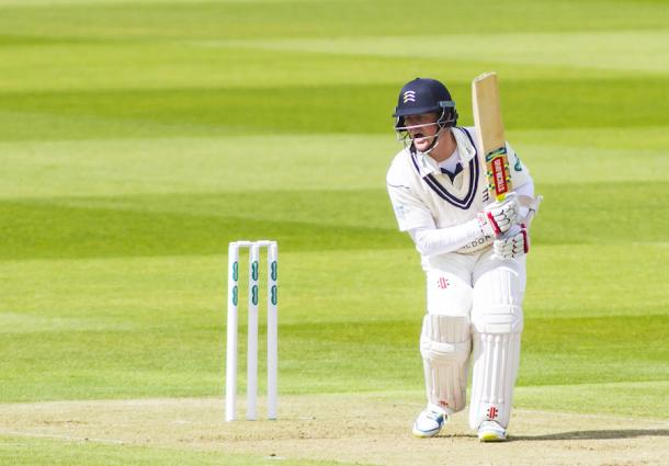 Sam Robson has staked his claim for an England spot with 337-runs in the game against Yorkshire (Photo: Getty Images)