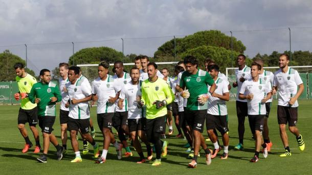 Lo Sporting si allena. Fonte foto: it.uefa.com