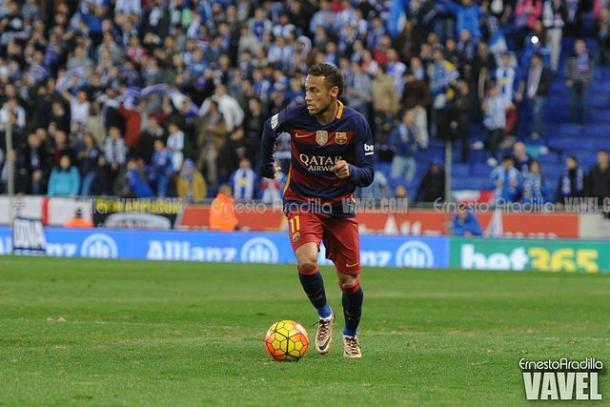 Neymar Jr en un partido en el Power8 Stadium I Foto: Ernesto Aradilla (VAVEL)