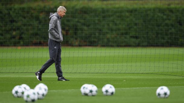 Wenger - Fonte: UEFA Champions League