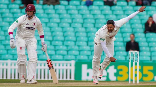Rampaul was in fine form for Surrey taking five wickets