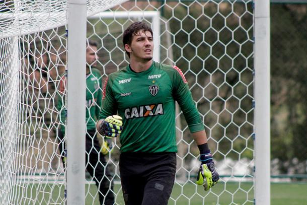 Uilson atuou em apenas dois jogos nesta temporada (Foto: Pedro Souza/Atlético-MG)