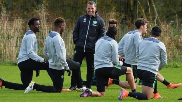L'allenamento del Celtic. Fonte foto: it.uefa.com