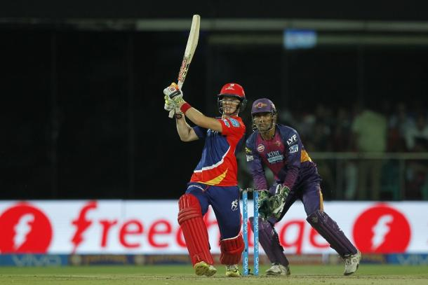 Sam Billings can't control his switch hit (photo: Getty Images)