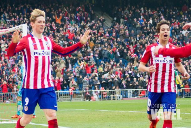 Torres celebra su gol 100 | Daniel Nieto (VAVEL)