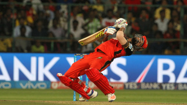RCB could not deal with the shorter delivery (photo : Getty Images)