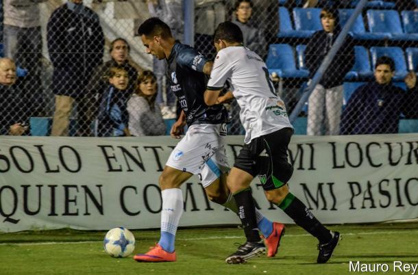 Tuvo pocos minutos en su debut pero lo hizo con un buen rendimiento. Foto | Mauro Rey