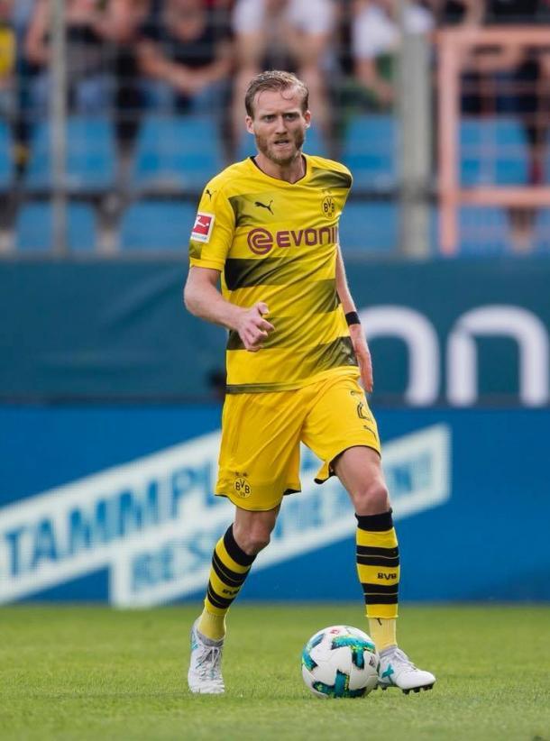 Schurrle durante un partido esta campaña / Foto: Borussia Dortmund