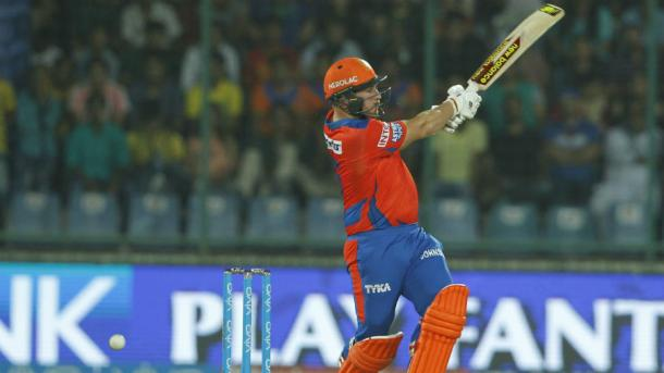 Finch smashed a quickfire 50 to continue his great form | Photo: BCCI