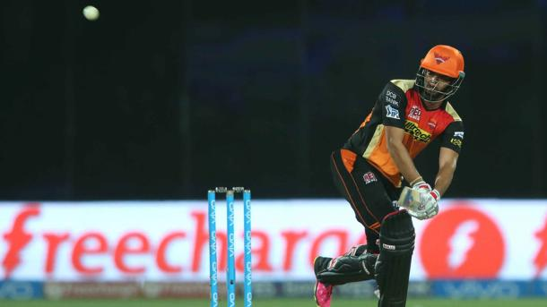 Sharma played a crucial innings of 27 to help Warner see their side home | Photo: BCCI