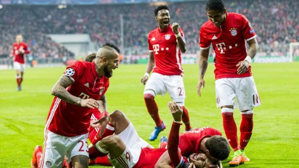 O Bayern goleou os ingleses por 5-1 | Foto: Site Oficial Liga dos Campeões