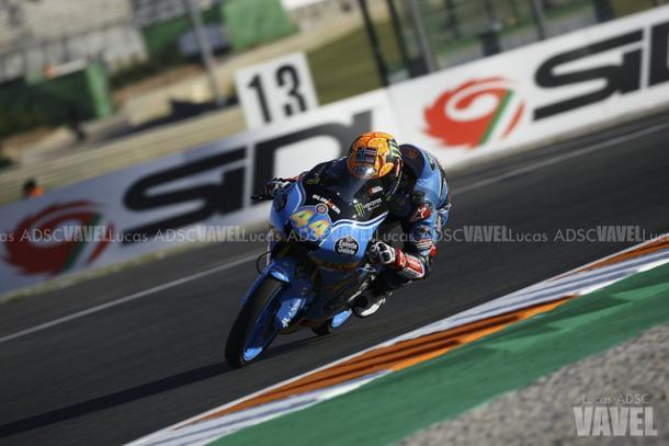 Aron Canet en el GP de Valencia   FOTO: Lucas ADSC (VAVEL España)
