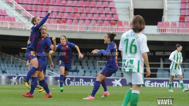 El Barça fue muy superior en la mayoría del partido. | Foto: Ernesto Ardilla, VAVEL