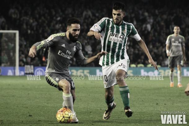 Carvajal em ação pelo Real Madrid | Foto: Juanlgn Lechuga