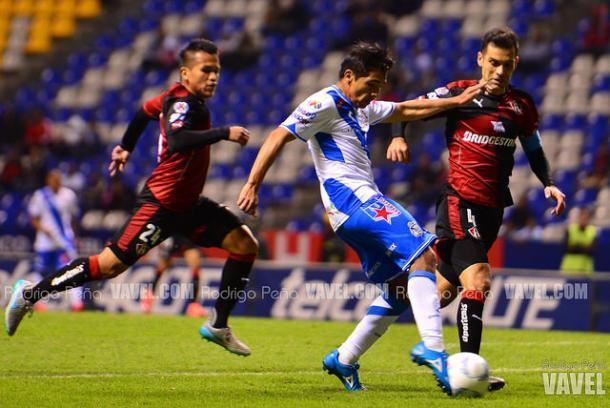 Christian Valdez anotando un gol en el C-2015 | Foto: Rodrigo Peña VAVEL