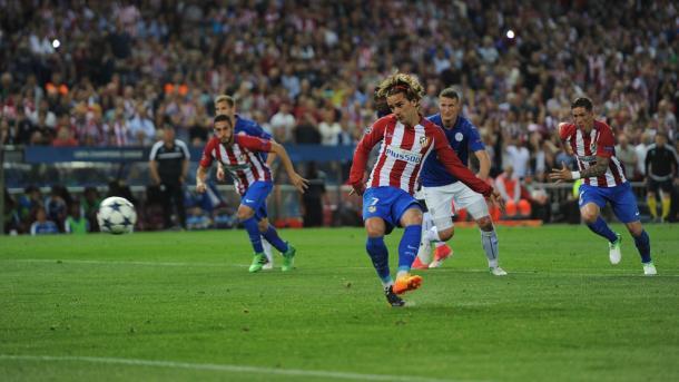 Griezmann foi o autor do único golo da noite  | Foto: Site Oficial Liga dos Campeões