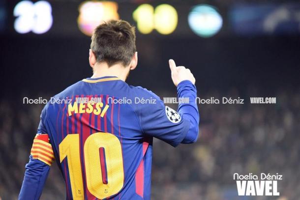 Messi no baja su nivel   |   FOTO: Noelia Déniz