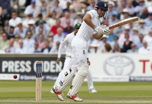 Cook was in fine form during his innings of 81 | Photo: Getty