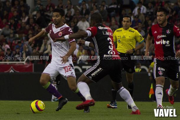 (Leiton fue el capitán en el juego de Copa MX / Foto: Fabián Meza / VAVEL)