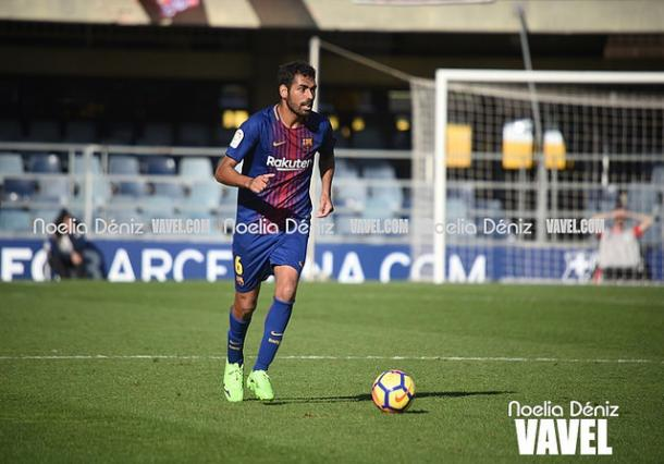 Fali repitió titularidad por segunda jornada consecutiva | Foto de archivo: Noelia Déniz  - VAVEL