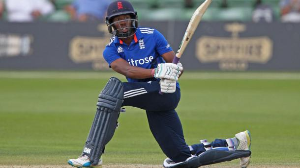 Daniel Bell-Drummond in full flow