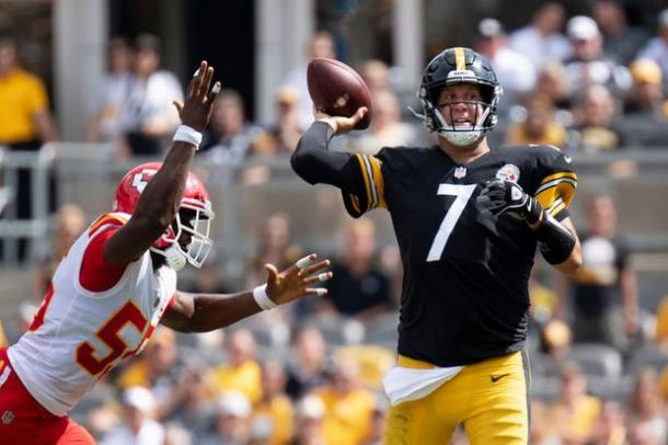 Ben Roethlisberger came close to pulling off the comeback | Source: Jacob Klinger-Penn Live