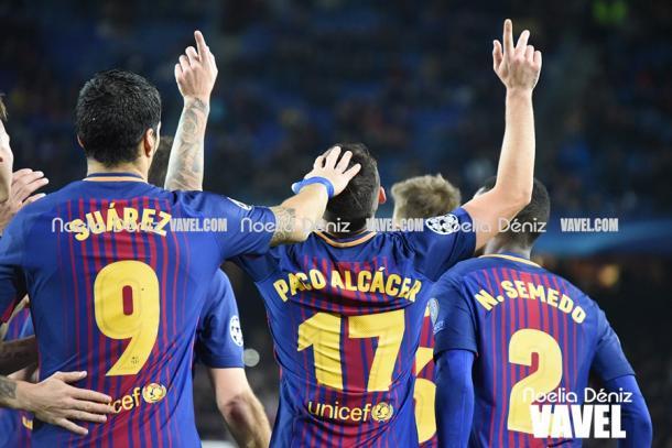 Alcácer dedica cada uno de sus goles a su padre fallecido | Foto: VAVEL.com, Noelia Déniz