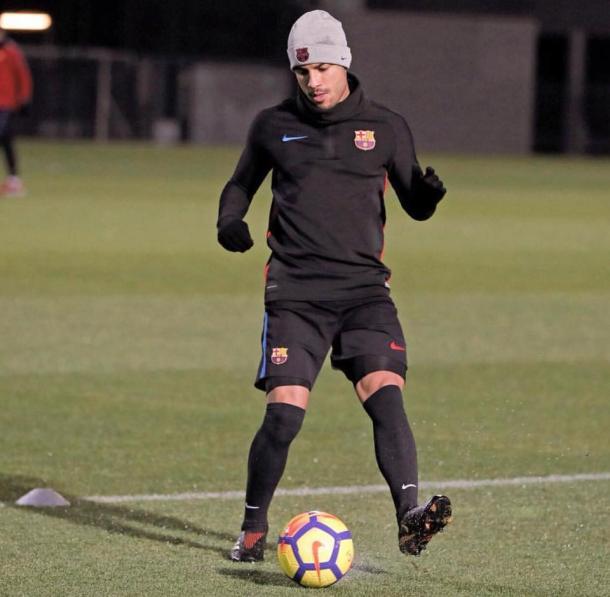 Rafinha ha vuelto a los entrenamientos / Foto: Barcelona