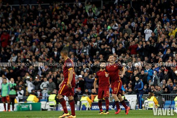El conjunto romano en un choque de Champions League   Foto: Rodri J. Torrelllas (VAVEL.com)