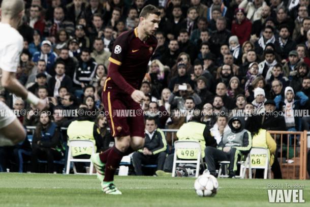 Edin Dzeko quiere seguir goleando en esta nueva temporada   Foto:Rodrigo Torrellas (VAVEL.com)