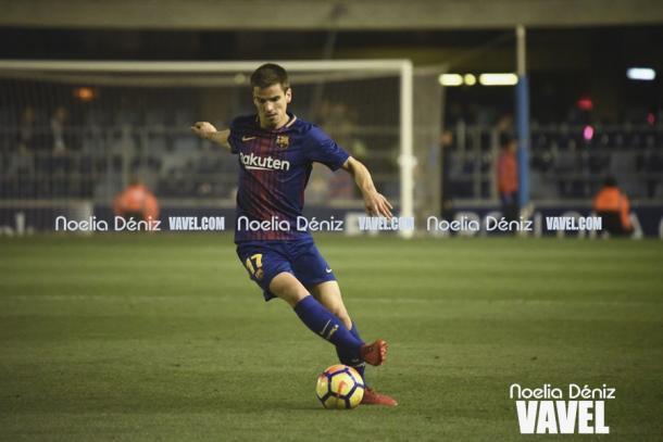 Ruiz de Galarreta fue uno de los más activos en el inicio de partido. | Foto: Noelia Déniz, VAVEL