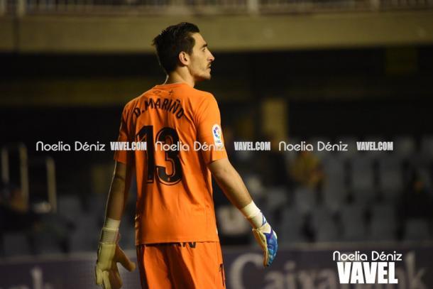 Mariño, segundo portero menos goleador de Segunda, pieza clave de este Sporting   Foto: Noelia Déniz (Vavel)