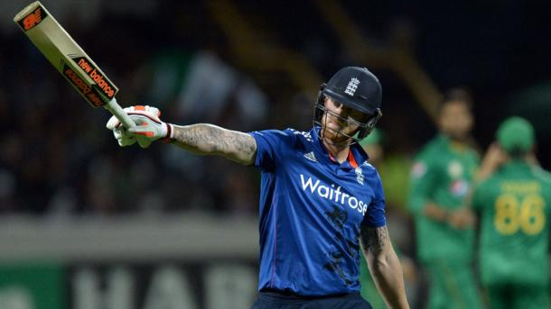 Stokes celebrating getting to his fourth half-century in ODIs | Photo: Getty