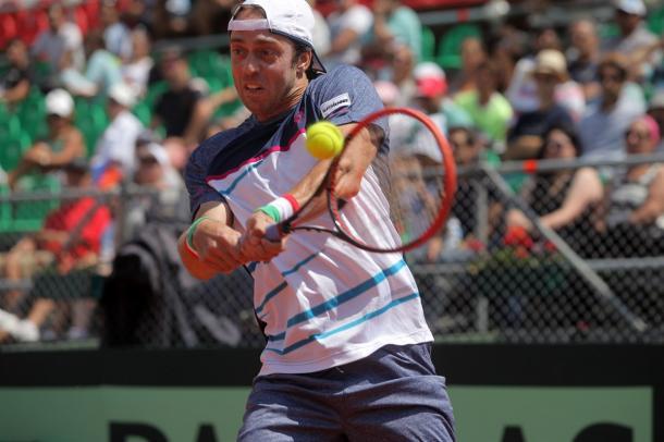 Lorenzi in azione- Fonte: Sergio Llamera