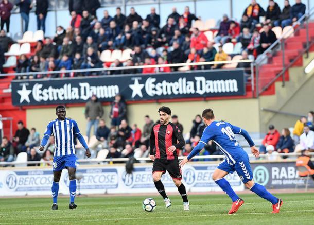 Vítor Silva, goleador ante el Lorca FC | Foto: CF Reus Deportiu