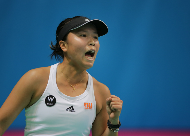 Lee Ya-hsuan played some great tennis against Ekaterina Makarova | Photo: Fed Cup/Andrei Golovanov