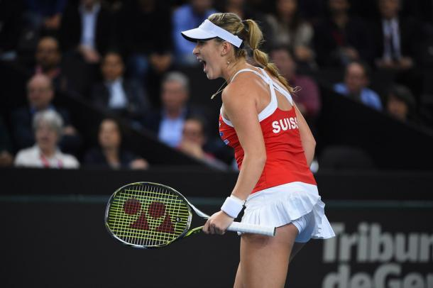 Belinda Bencic will lead Switzerland's charge for the title | Photo: Corinne Dubreuil