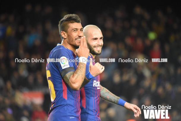 Paulinho sigue demostrando sus cualidades y aprovechando las oportunidades.   Fotografía: Noelia Déniz (VAVEL.com)