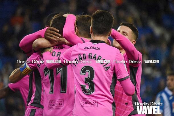 El Levante UD pudo celebrar la primer victoria del año tras cerrar el 2017 con cuatros empates y dos derrotas