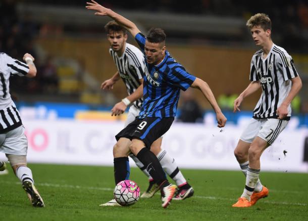 Inter Juventus 2-1, Inter.it