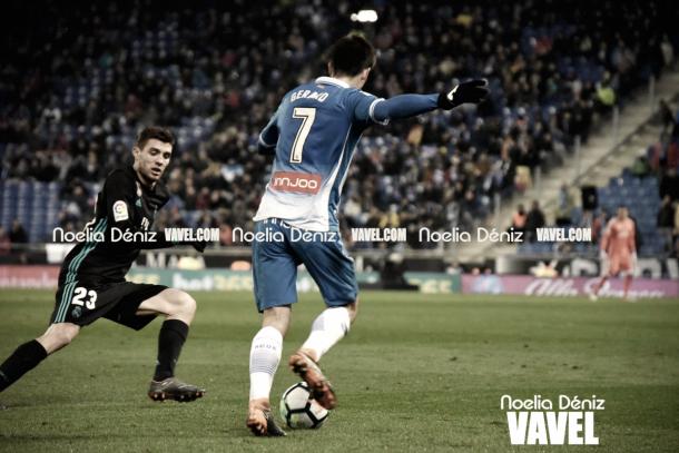 Gerard Moreno en un partido de la temporada pasada con el Real Madrid I Foto: Noelia Déniz (VAVEL)