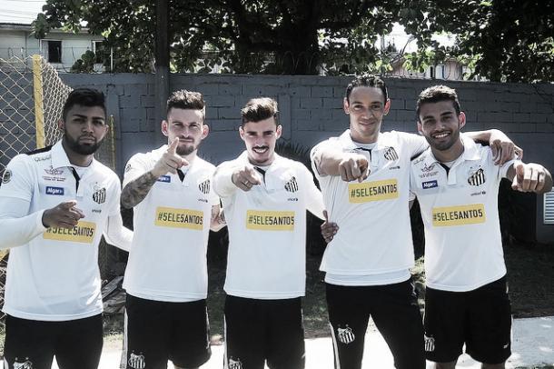 Seleção desfalca o peixe com cinco atletas titulares e pode tirar o Santos da briga / Foto: Ivan Storti  / Santos FC