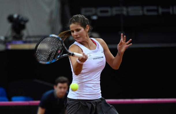 Julia Goerges got off to a great start to the match | Photo: Paul Zimmer / Fed Cup