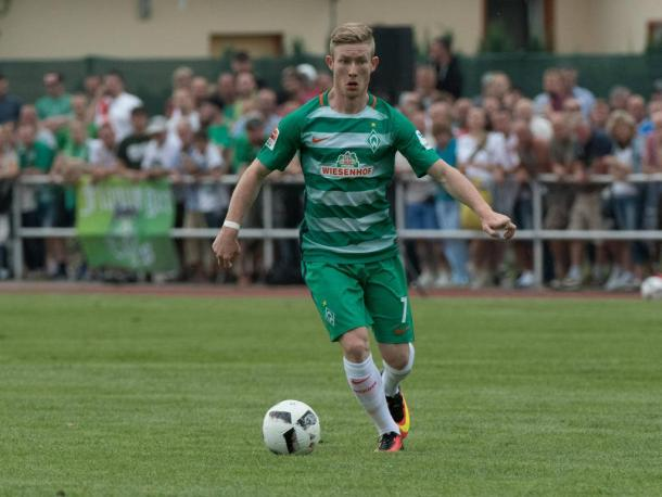 Florian Kainz in pre-season action. | Photo: sport.de