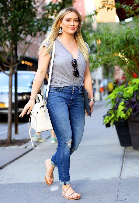 Hilary Duff actualmente   Fuente: Pinterest