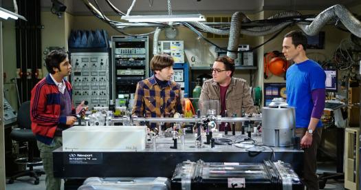 Laboratorio de Leonard (Imagen: Vulture)