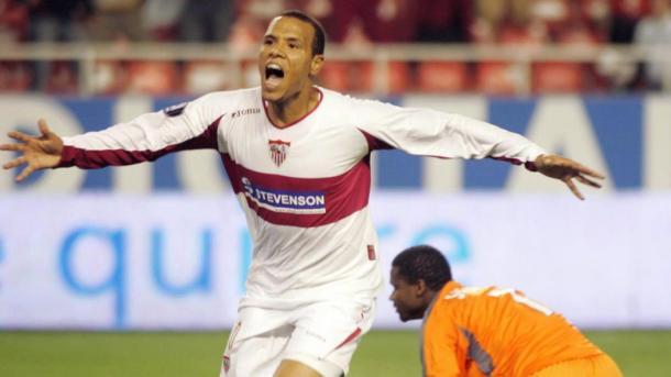 Luis Fabiano celebra uno de los goles | Eurosport