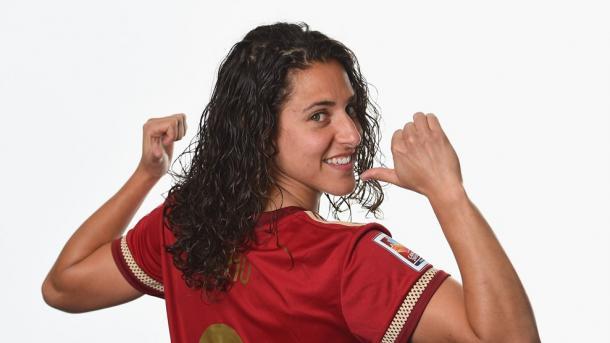 Verónica Boquete, actual capitana de la Selección I Foto: Uefa.com