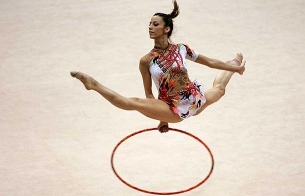 Almudena Cid en los Juegos I Foto: commons.wikimedia.org